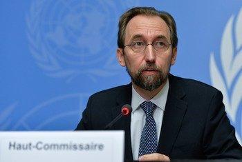 El Alto Comisionado de la ONU para los Derechos Humanos, Zeid Ra'ad Al-Hussein. Foto de archivo: ONU/Jean-Marc Ferré