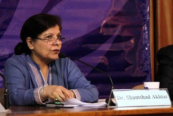 ESCAP Executive Secretary Dr. Shamshad Akhtar launches Survey of Asia and the Pacific 2014: Year-end Update.