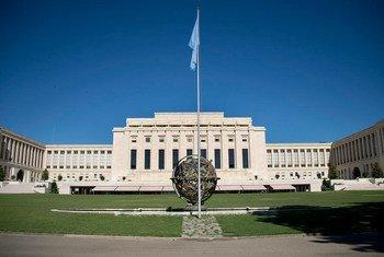 Дворец наций в Женеве.