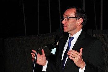 Le Conseiller spécial sur Chypre, Espen Barth Eide. Photo UNFICYP
