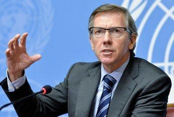 La misión de la ONU en Libia (UNSMIL), dirigida por Bernardino León, está mediando en las conversaciones de paz en el país. Foto: ONU/Jean-Marc Ferré