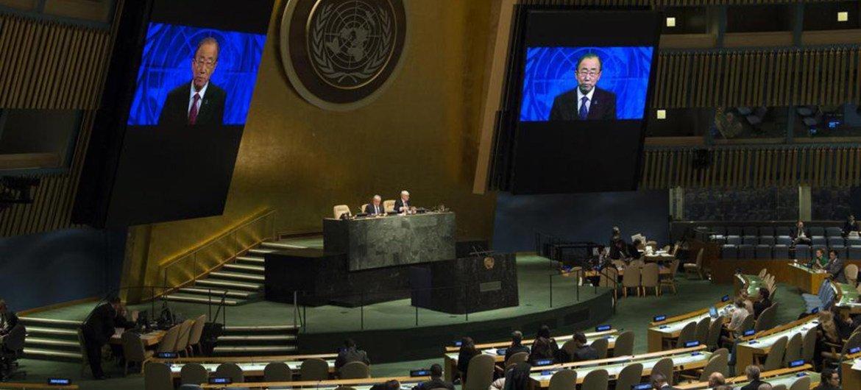 联合国大会(资料)联合国图片/E. Debebe