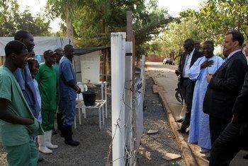 Фото Миссии ООН по Эболе