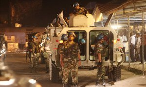UN peacekeepers in Kinshasa, capital of the Democratic Republic of the Congo (DRC).