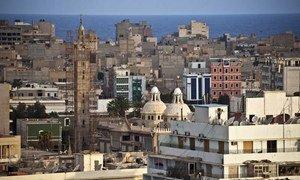 Une vue de la vieille ville de Benghazi, dans l'est de la Libye.
