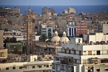 班加西老城。图片来源:联合国利比亚支助团/Iason Athanasiadis