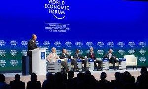 Secretary-General Addresses 2015 World Economic Forum.