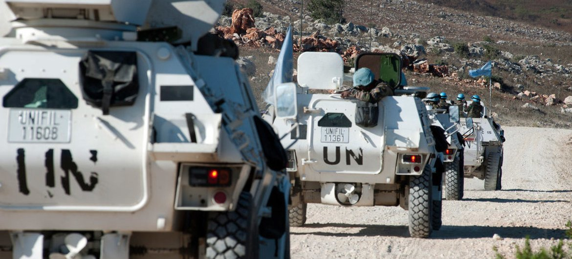 UNIFIL peacekeepers in southern Lebanon.