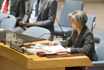 Deputy Emergency Relief Coordinator Kyung-wha Kang briefs the Security Council on the situation in Syria.