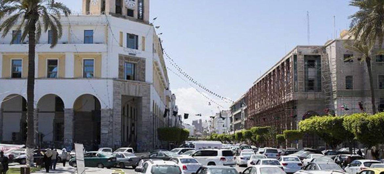 利比亚首都的黎波里。
