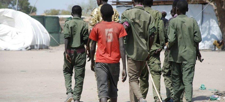 Resultado de imagem para Unicef anuncia libertação de mais 200 crianças-soldado no Sudão do Sul