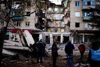 La crise dans l'est de l'Ukraine continue de s'aggraver. Photo HCR