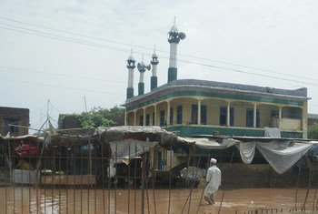 A mosque in Pakistan.