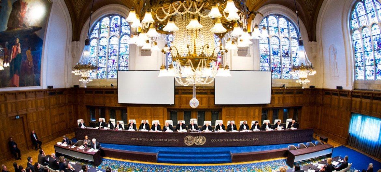 Corte Internacional de Justicia. Foto de archivo: CIJ/Frank van Beek
