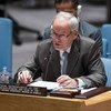 Special Representative Nicholas Kay briefs the Security Council on the situation in Somalia.