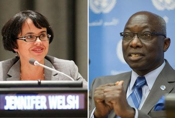 Jennifer Welsh, Special Adviser on the Responsibility to Protect and Adama Dieng, Special Adviser on the Prevention of Genocide.