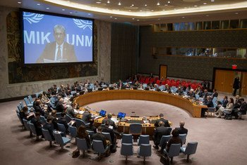 The Security Council discusses the UN Mission in Kosovo.