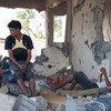 Víctimas de la violencia en Yemen. Foto de archivo: OCHA/EmanAl-Awami