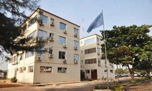 Le quartier-général du Bureau intégré des Nations Unies en Guinée-Bissau (BINUGBIS).