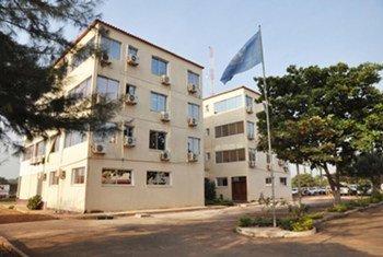 Sede do Escritório Integrado de Construção da Paz das Nações Unidas na Guiné-Bissau, também conhecido como Uniogbis.