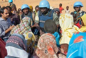 El conflicto en Darfur ha causado más de 2 millones de desplazados internos en la región. Foto: UNAMID/Hamid Absulsalam