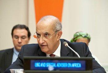 Special Adviser on Africa Maged Abdelaziz.