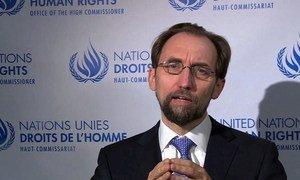 UN High Commissioner for Human Rights Zeid Ra'ad Al-Hussein.