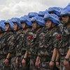 驻南苏丹的中国维和士兵/JC McIlwaine