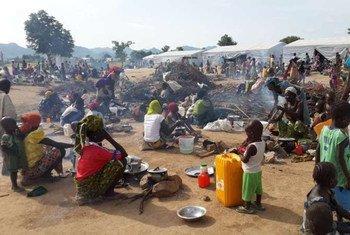 Беженцы из Нигерии в Камеруне Фото УВКБ/Д.Мбайорем