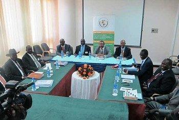 Conversaciones en Addis Abeba para la paz en Sudán del Sur. Foto de archivo: IGAD