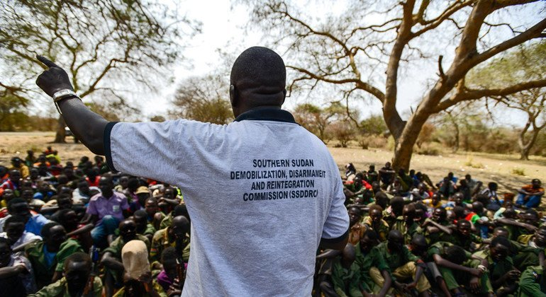 UN special envoy joins demands for release of child soldiers by all parties in South Sudan