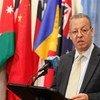 Jamal Benomar. Foto de archivo: ONU/Loey Felipe