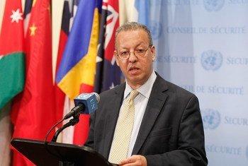 Le Conseiller spécial du Secrétaire général de l'ONU pour le Yémen, Jamal Benomar. Photo : ONU / Loey Felipe