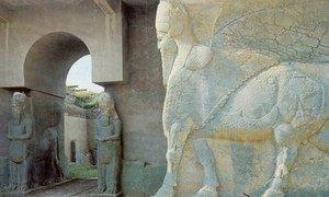 Le site archéologique de Nimroud, en Iraq. Photo : UNESCO