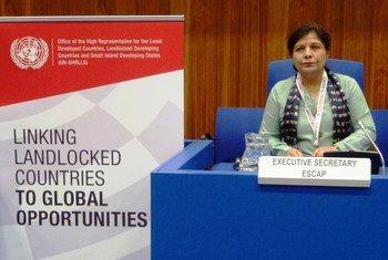 UNESCAP Executive Secretary Dr. Shamshad Akhtar. Photo UNESCAP (file)