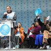 On International Women's Day, UN Secretary-General Ban Ki-moon calls for boosted global efforts to achieve gender equality.