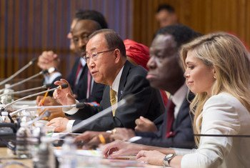 Secretary-General Ban Ki-moon addresses the High-level Event on Every Women, Every Child , Saving Lives, Protecting Futures.
