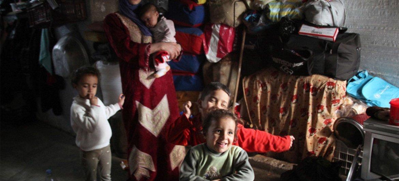 Más de 4 millones de sirios están refugiados en países vecinos. Foto de archivo: UNWRA / Taghrid Mohammad
