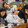 阿拉伯国家女性议员在布鲁塞尔参加国际会议。联合国妇女署/Emad Karim