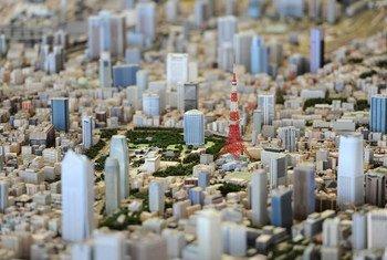 La ville de Tokyo en miniature pour aider se préparer aux risques de catastrophes.