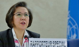 Special Rapporteur on the human rights situation in Myanmar Yanghee Lee.