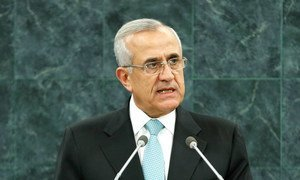 Lebanon's President Michel Sleiman's term came to an end on 25 May 2014.