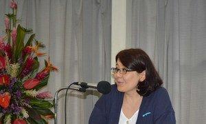 Country Representative for UN Women in Afghanistan Elzira Sagynbaeva.