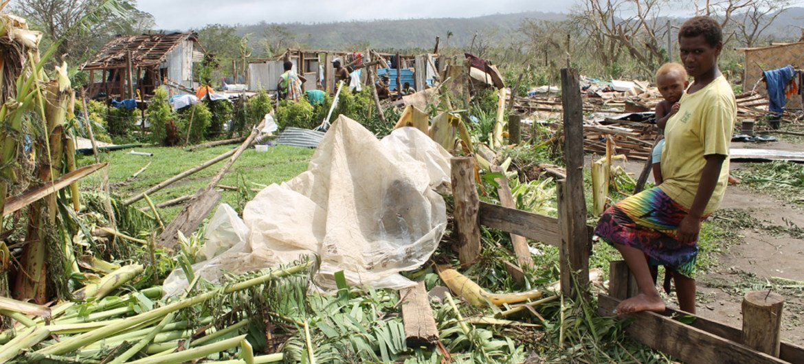 damage caused by cyclone
