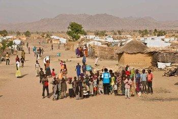 Le camp de Minawao, au Cameroun, accueille des dizaines de milliers de réfugiés nigérians, qui ont fui les violences dans leur pays. Photo HCR