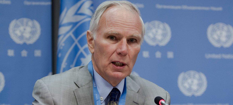 Philip Alston, relator especial sobre pobreza extrema y derechos humanos. Foto de archivo: ONU/Loey Felipe