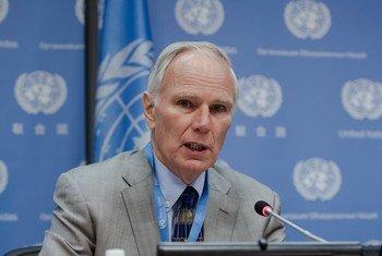Le Rapporteur spécial sur l'extrême pauvreté et les droits de l'homme, Philip Alston. (archives) Photo ONU/Loey Felipe