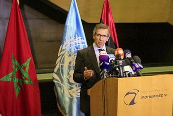 Le Représentant spécial du Secrétaire général pour la Libye, Bernardino Léon. Photo MANUL