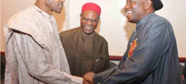 Гудлак Джонатан и Мухаммаду Бухари Фото ПРООН в Нигерии