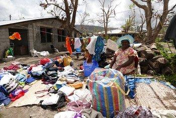 Unas 166.000 personas necesitan asistencia urgente después de que el ciclón Pam arrasara las islas Vanuatu. Foto: PNUD